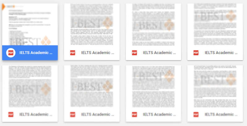 Download 100 bộ đề thi IELTS Reading - Tài liệu IELTS