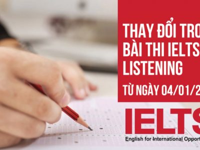ielts listening thay doi